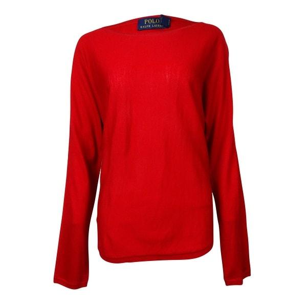 Polo Ralph Lauren Women\u0026#x27;s Merino Wool Dolman Sweater