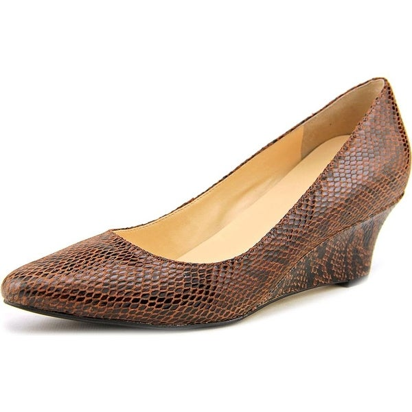 Cole Haan Womens Catalina Closed Toe Wedge Pumps