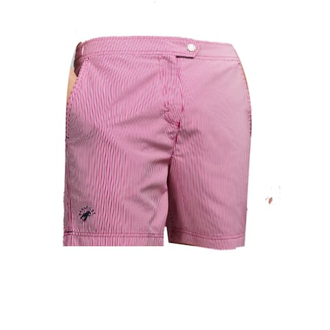 Ted Baker Geo Print Shorts, Galley Pink, 46