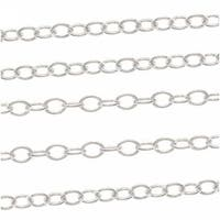 14K Gold Fill Fine Beading Chain .6mm Bulk By The Foot