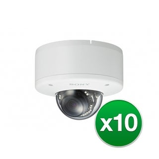 Sony Network FHD Outdoor Minidome Camera (10-Pack) Network FHD Outdoor Minidome Camera