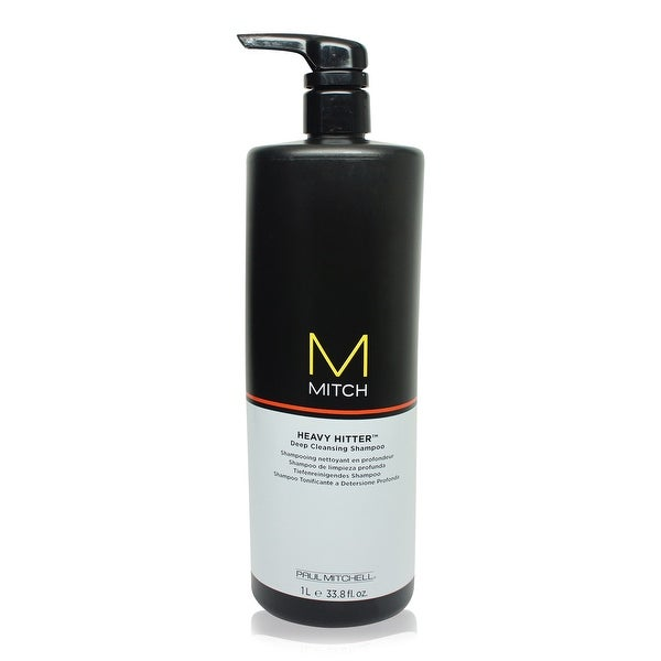 Paul Mitchell Mitch Heavy Hitter Deep Cleansing Shampoo 33.8 Oz