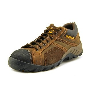 Caterpillar Argon CT Men W Steel Toe Leather Brown Work Shoe