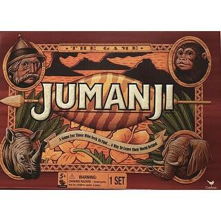 Cardinal Games Jumanji the Game Play Anywhere Edition - MultiColor|https://ak1.ostkcdn.com/images/products/is/images/direct/62dd8ec9d36259d6d8165360c6fc286490d0504a/Cardinal-Games-Jumanji-the-Game-Play-Anywhere-Edition.jpg?impolicy=medium