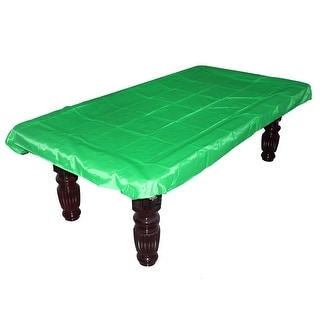 Billiard Protective Cover Cloth Pool Felt Tablecloth Green for 9 Foot Table
