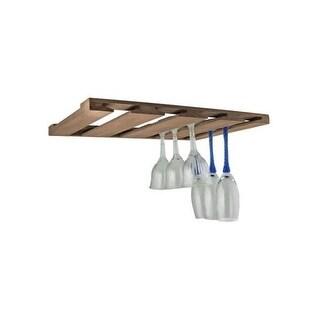 SeaTeak 62425 Overhead Wineglass Rack - Brown