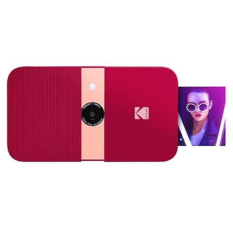 KODAK Smile Instant Print Digital Camera  Slide-Open 10MP Camera w/2x3 Zink Paper