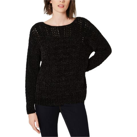 I-N-C Womens Chenille Pullover Sweater