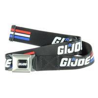 GI JOE Seatbelt Belt-Holds Pants Up