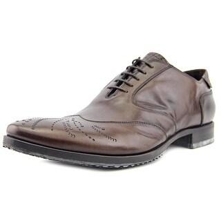 Barracuda B427 Men Wingtip Toe Leather Brown Oxford
