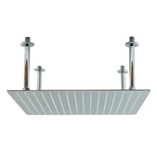 Link to ALFI brand 20-inch Square Polished Solid Stainless Steel Ultra Thin Rain Shower Head Similar Items in Showers
