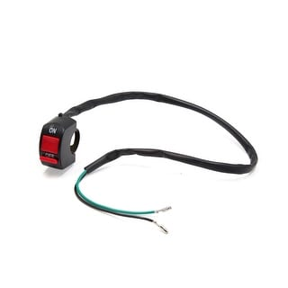 2 Wires Motorcycle Headlight Switch Head Lamp ON OFF Button For 7 8 Handlebar