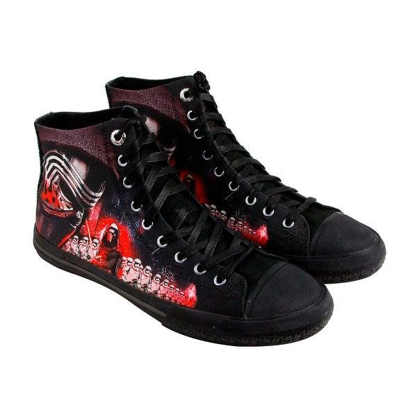 Skechers Star Wars Legacy Vulc Galactic Ruler Mens Black Canvas Shoes