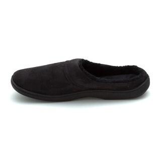 Isotoner Mens Men's Slip-on mule Closed Toe Slip On Slippers