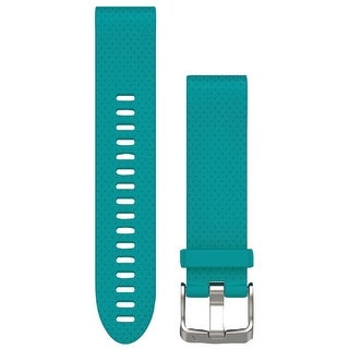 Garmin(r) 010-12491-11 fenix(r) 5s 20mm quickfit(tm) silicone watch band (tourquoise)