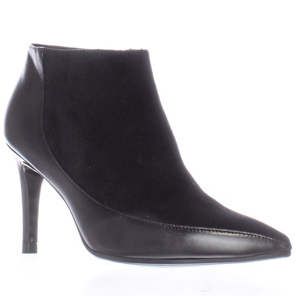L.K. Bennet Amanda Pointed-Toe Ankle Boots, Black - 6.5 us / 37 eu