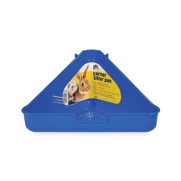 Prevue Pet Plastic Corner Litter Pans - 488