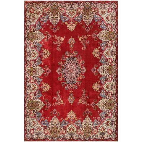 Vintage Antique Persian Cordova Wool Rug - 10'7'' x 13'0''