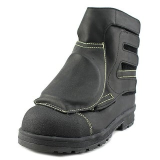 Blundstone Smelter Safety Youth Round Toe Leather Black Work Boot
