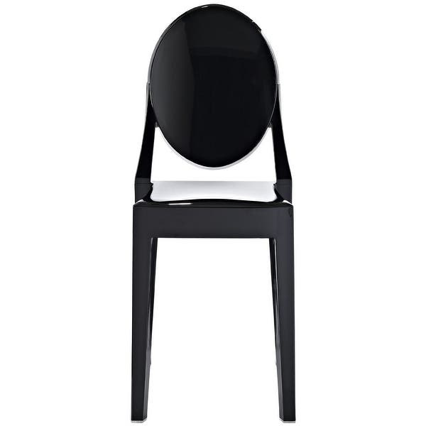 Shop 2xhome Set of 4 Designer Dining Chairs No Arms Armless ...