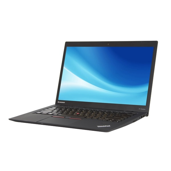 Lenovo ThinkPad X1 Carbon Core i5-3427U 1.8GHz 3rd Gen CPU 4GB RAM 240GB SSD Windows 10 Pro 14-inch Ultrabook (Refurbished)