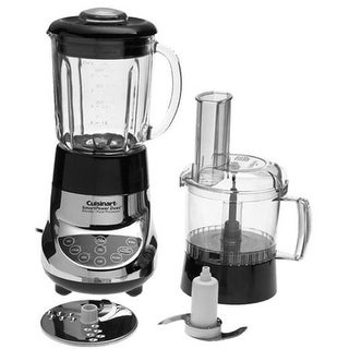 Refurbished Cuisinart SmartPower Duet Blender / Food Processor (Chrome) Duet Blender or Food Processor 7-Speed Smartpower