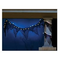 Celebrations H560AE12 Spooky Garland Halloween Light, 11' L
