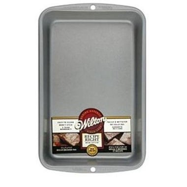 """Wilton 2105-960 Recipe Right Biscuit/Brownie Pan, 11"""" x 7"""""""