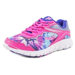 Fila Runtronic Youth Round Toe Synthetic Pink Running Shoe