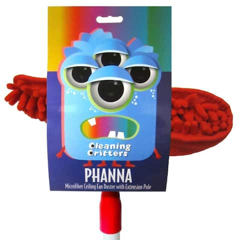 """Ettore 32001 Phanna Microfiber Ceiling Fan Duster with 59"""" Extension Pole"""