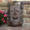 Sunnydaze French Lily Solar Outdoor Wall Fountain, Multiple Colors - Thumbnail 21