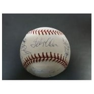 Signed Giants San Francisco 2003 MLB Baseball in Blue ink by the 2003 San Francisco Giants Team 22