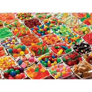 Outset Media Jigsaw Puzzle 1000 Pieces 19.25 x 27 in. Sugar Overload