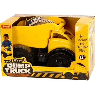 Amloid My First Boxed Dump Truck, Colors May Vary