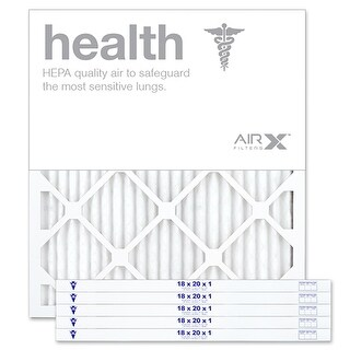 Replacement Air Filter 18x20x1 MERV 13 Comparable to Filtrete Healthy Living MPR 1500 1550 1900 2200 2400, 6Pk