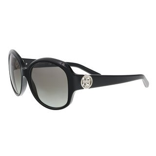 Tory Burch TY7085 105811 Black Round Sunglasses - 55-18-135