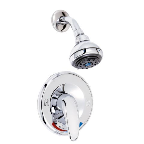 Belanger 4112CP Single Handle Shower Faucet, Polished Chrome