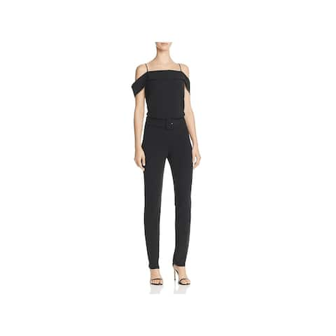 Theory Womens Admiral Jumpsuit Off-The-Shouldr Night Out - 4