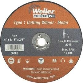 Weiler 4X1/16 Abrasive Wheel