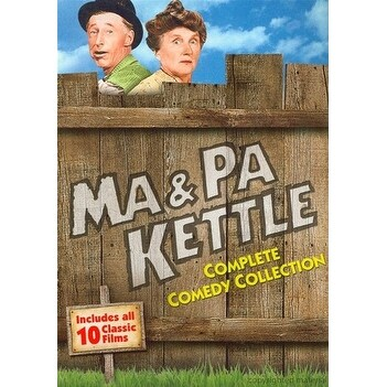 Ma & Pa Kettle: Complete Comedy Collection [DVD]