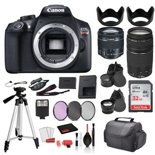 Link to Canon EOS Rebel T6 Digital SLR Camera WITH 18-55mm Lens and EF Similar Items in Digital Cameras