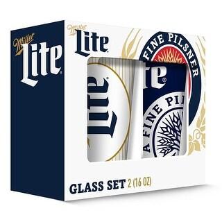 Miller 190443000542 Pub Glass - Set of 2