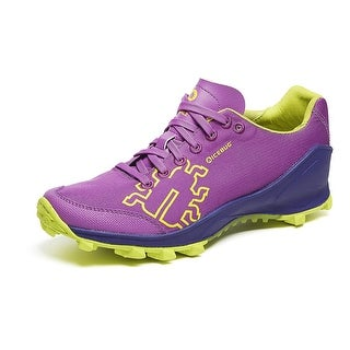 Icebug Women's Zeal2 RB9X Traction Running Shoe - dahlia/grape