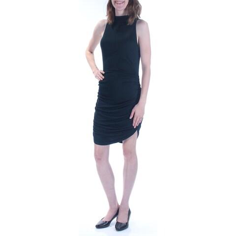 CHELSEA SKY $78 Womens 1654 Green Sleeveless Above The Knee Party Dress XS B+B