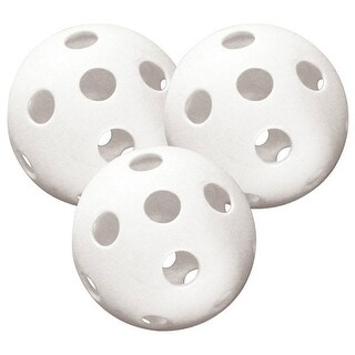 Halex 40-20319 Plastic Pickle Ball, 70mm, White