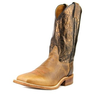 Justin Boots BR316 Men 2E Round Toe Leather Brown Western Boot