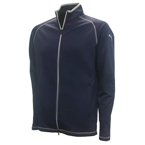 PUMA Golf Men's Member Full-Zip Fleece Jacket