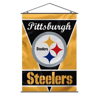 FREMONT DIE Inc Pittsburgh Steelers Wall Banner Wall Banner