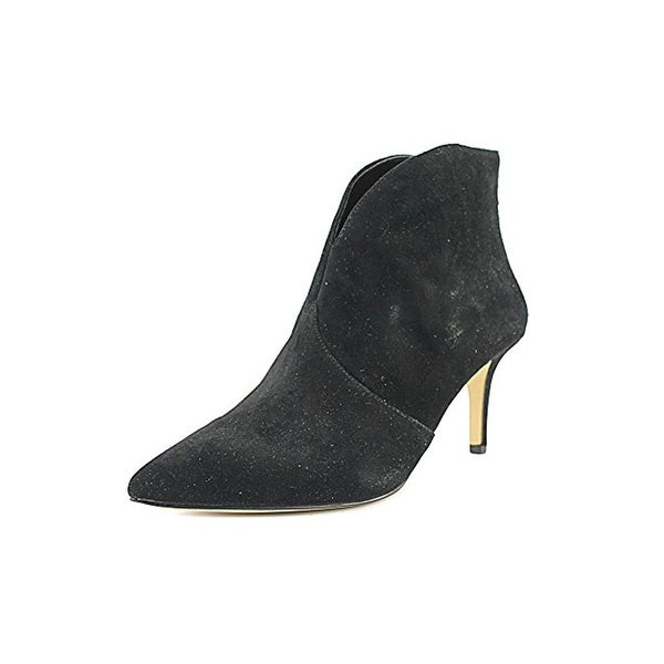 424 Fifth Womens Darren Booties Ankle Pointed Toe Black 6.5 Medium (B,M) - 6.5 medium (b,m)