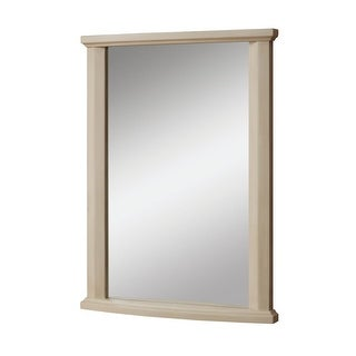 """DecoLav 9715 Olivia 24"""" Rectangular Wall Mirror with Solid Wood Frame - N/A"""